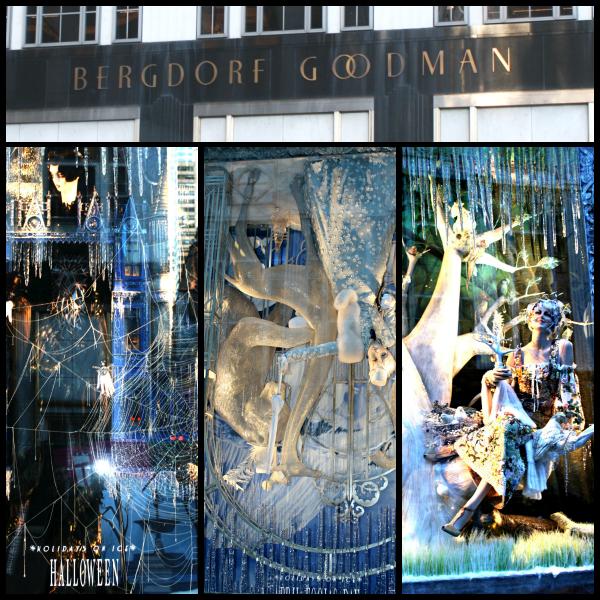Bergdorf Window Collage