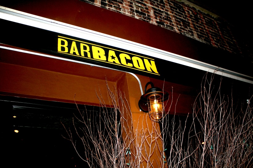 Bar Bacon Sign